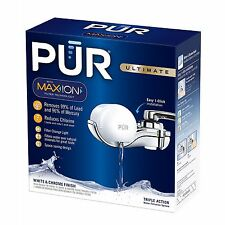 PUR Ultimate Horizontal Faucet Water Filter (White)  With Maxion Filter Tech.