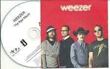 WEEZER The Red Album 2008 UK 12-trk numbered/watermarked promo test CD