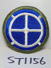 VINTAGE US MILITARY PATCH ARMY-USAF GREEN-WHITE-BLUE BULLS EYE-COMPASS-NAVY