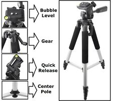 "For Sony HDR-CX260V DCR-SX45 HDR-PJ10 HDR-CX290 Pro Series 57"" Tripod With Case"