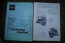 VOLVO PENTA Marine Diesel Engine Service Manual repair overhaul book shop 1974