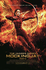 THE HUNGER GAMES MOCKINGJAY BOW 24x36 POSTER JENNIFER LAWRENCE NEW KATNISS PEETA