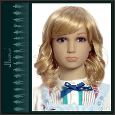 JI DISPLAY Kinder Perücke Wig B4 für Kinderpuppen Mannequin Schaufensterpuppe