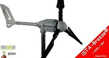 Windgenerator 48V/2000W iSTA Breeze® generator wind turbine,i-2000 Black Edition