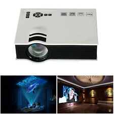 1200 lúmenes LED Mini Home Multimedia Projector 1080P HD HDMI USB Vídeo