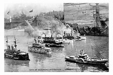 pt6682 - Bradford Exhibition - Naval Spectacle - photograph