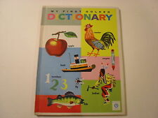 My First Golden Dictionary, Goldencraft Library Binding, Richard Scarry, 1963