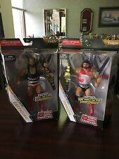 WWE MATTEL ELITE Then Now Forever TYPHOON & EARTHQUAKE Natural Disasters Figures