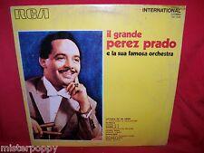 PEREZ PRADO Il Grande LP 1973 EX+ Italy Mambo N°5  Patricia Ciliegi Rosa