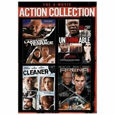 The 4-Movie Action Collection (DVD, 2013, 3-Disc Set)