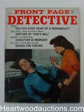 """Front Page Detective"" July 1968 Catfight Cover"