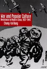 War and Popular Culture: Resistance in Modern China, 1937-1945-ExLibrary