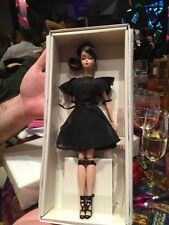 barbie silkstone classic black dress Madrid Fashion Doll convention 2016 NRFB