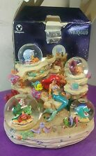 Disney Little Mermaid ARIEL SYMPHONY UNDER THE SEA Musical Snowglobe