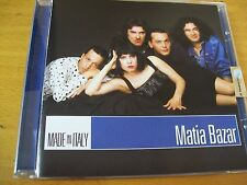 MATIA BAZAR MADE IN ITALY  CD MINT-