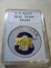 US NAVY SEAL TEAM EIGHT Challenge Coin