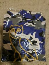 Drake OVO (October's Very Own) Golden Owl Logo Hoodie Purple Camo - Medium