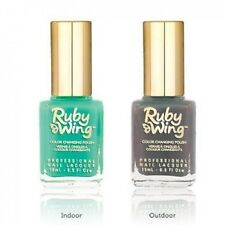 Ruby Wing Solar Color Changing Lacquer Nail Polish Eternal  0.5 fl. oz