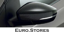 Volkswagen Polo 6R Exterior Mirror Caps Carbon Look Set Sporty Look Genuine NEW