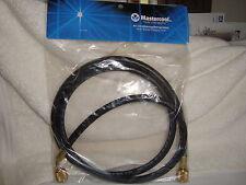 "Mastercool 47604 5FT Black Charging / Vacuum AC Hose 1/4"" Fittings Made in USA"