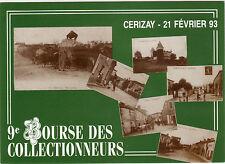 CPM -79-  CERIZAY- 21 février 1993 - 9ème Bourse des Collectionneurs.