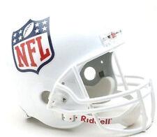 NFL Shield National Football League Logo Riddell Deluxe Full Size Helmet