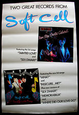SOFT CELL Marc Almond Non Stop Erotic Cabaret U.S. Promo Poster Mint- 1982 Nice!