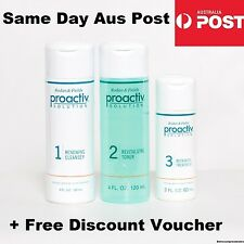 Proactiv 3 Piece 60 Day Set 120ml Cleanser & Toner 60ml Treatment 3 Step Sealed