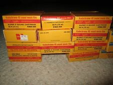 Kodak Super 8 Film New 8 Ektachrome 160 Cart and 15 Kodachrome40 Cart Exp&Refrig