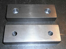 "6 x 2 x 1"" Standard Soft Jaws for Kurt 6"" Vises! Machinable 1018 Steel USA Free"