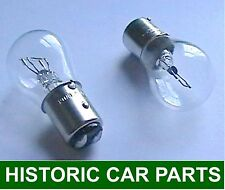 STOP TAIL BULBS x 2 - 12volt 21/5watt Side Brake bulb