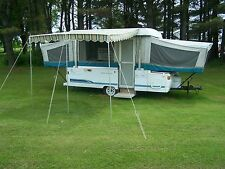 "VINTAGE DELUXE AWNING 7' 9"" X 9' OKLAHOMA"