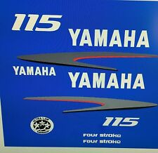 Yamaha Outboard Motor Decal Kit 115 HP 4 Stroke Kit, also Avail. in  150