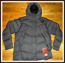 NWT NEW $279 The North Face Mens Eldo Down Parka Jacket M MEDIUM Dark Grey 2016
