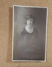 1920's Lady Studio portrait Jamieson Studio Preston .Unposted xc1
