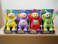 4PCS Teletubbies Set Po Dispy Laa Laa Tinky Winky Soft Plush Stuffed Doll Toys