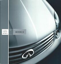 Auto Brochure - Infiniti - Product Line Overview - 2004  (A1054)
