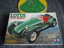 Lotus Super 7 Series II Seven 2 Plastic Kit Tamiya Mint Boxed 1:24