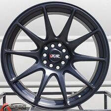 18X8.75 XXR 527 5X114.3 +20 FLAT BLACK WHEEL FIT SCION FR-S SUBARU BRZ SCION TC