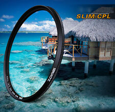 Zomei 58mm Ultra Slim Circular Polarizing Polarizer CPL Filter for Canon Nikon