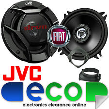 Fiat Punto MK2 1999-2014 JVC 13cm 520W 2 Way Rear Hatch Car Speakers & Brackets