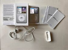 Flawless Boxed Apple iPod Classic 7th Generation 160GB Silver - 7th Gen