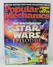 Popular Mechanics Magazine - The Machines Of Star Wars Episode 1 (Jun. 1999)