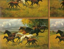 HORSE LOVERS GIFT WRAPPING PAPER - 6 Ft Sheet