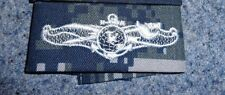 US NAVY NEW ,INFORMATION DOMINANCE ENLISTED,CLOTH , NWU CAMO (BLUE BERRIES)