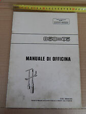 MOTO GUZZI 850 T5 1987 VARIANTE MANUALE OFFICINA ORIGINALE DELL'EPOCA MOTOGUZZI