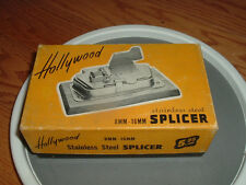 Hollywood 16/8mm stainless-steel film splicer NEW! RARE!Colletable!