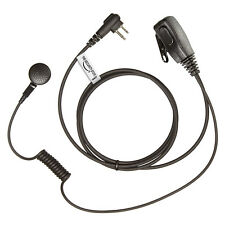 2 x MOTOROLA Radio 2 Pin Earpiece (MP Style Headset with PTT Microphone)