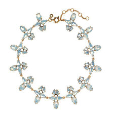 NWT J.CREW Radiant Statement Necklace B3417 SNOW OPAL - AUTHENTIC - NEW WITH TAG
