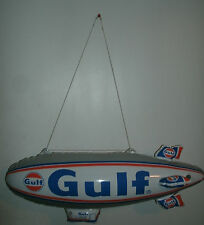 """1/100 Scale 24"""" Inflatable Gulf Blimp - New Unopened Package With String & Hook"""